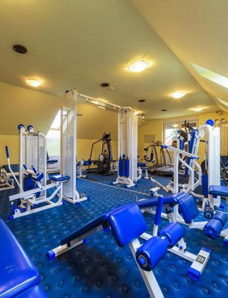 Eri ls Andi női fitness center konditerem